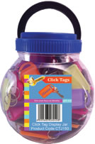 Click Tag Jar 150