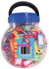 Key Tag Jar 300